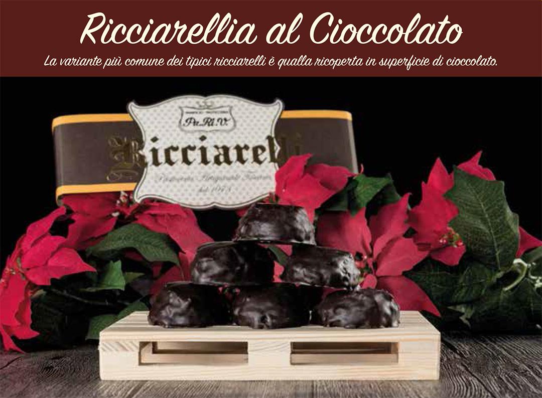 ricciarelli al cioccolato